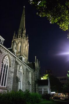 Moonlight Walk #HamOnt Moonlight, Ontario, Hamilton, Barcelona Cathedral, Building, Travel, Voyage, Buildings, Viajes