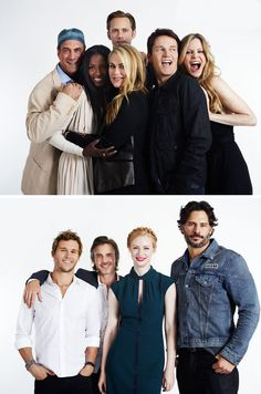 True Blood cast photographed by Michael Muller for Entertainment Weekly at San Diego Comic-Con, July 14th