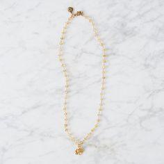 Citrine Flower Necklace   Terrain