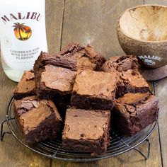 The ultimate brownie with a generous helping of alcohol for an extra indulgence. These malibu brownies, which you can find the recipe here at BakingMad.com, have a lovely gooey centre, just the way that brownies should!