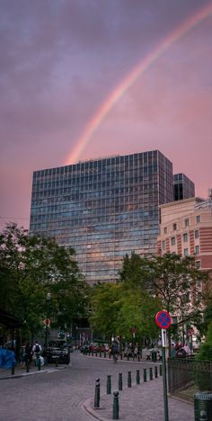 building over the rainbow by Fabien Dessart on 500px