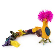Wool Quetzal, Sindy Posso for Jonathan Adler, $44. So cheery and adorable!