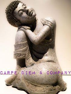 BUDDHA PACIFICO DELLA MEDITAZIONE — STATUA ARTIGIANALE INDIANA CM 19.5 cm