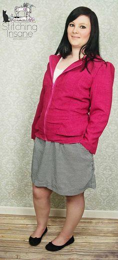 Fuchsia Cordova Jacket Skirts, Jackets, Fashion, Down Jackets, Moda, Skirt Outfits, Jacket, Fasion, Skirt