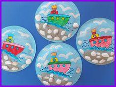 Kindergarten, Painting For Kids, Fathers Day, Decorative Plates, Summer School, Summer Ideas, Education, Disney, Blog