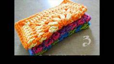 crochet dishcloth patterns - YouTube