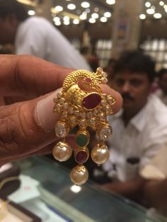 Tops India Jewelry, Temple Jewellery, Pearl Jewelry, Wedding Jewelry, Antique Jewelry, Jewelery, Gold Jewelry, Indian Jewellery Design, Jewelry Design