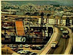 Década de 70 - Viaduto da Lapa. À esquerda temos o tobogã.