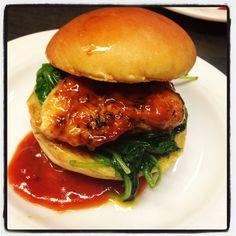 BBQ Strawberry Chicken Slider