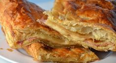 Ioanna's Notebook - Quick and easy Ham & Cheese Pie recipe Ham And Cheese Pie Recipe, Ham Pie, Cheese Pies, Ham Recipes, Cookbook Recipes, Greek Recipes, Cooking Recipes, Recipies, Savory Pastry