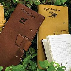 FLY FISHING LOG BOOK - Apparently not being made anymore... so craft idea for me.