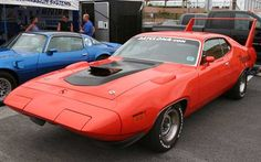 1971 Plymouth Superbird - Prototype never produced because of NASCAR rule changes.