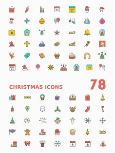 Celebrate this Christmas with a set of 78 colorful, modern and funky filled outline icons. We call it funky because they are! Very Easy Drawing, Easy Drawings For Kids, Girly Drawings, Outline Drawings, Doodle Icon, Doodle Art, Banner Doodle, Cake Drawing, Pen Doodles