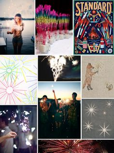 Mood Board Monday: Fireworks