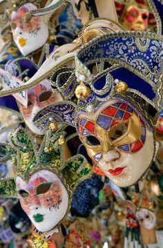 Carnival Theatre in Venice - #Masks - Jan 2013