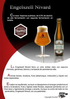 Cerveza trapense austriaca, de 5,5% de alcohol, de alta fermentación con segunda fermentación en botella. CERVEBEL