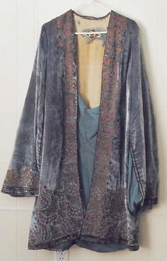 Coat, Evening  Vitaldi Babani  (French, born Middle East, active 1895–1940)  Date: early 1920s Culture: French Medium: silk, metal