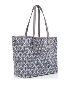 Liberty London Marlborough Iphis-Print Tote Bag | Neiman Marcus Printed Tote Bags, Blue Bags, Calf Leather, Neiman Marcus, Calves, Liberty, Luxury Fashion, London, My Style