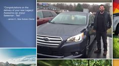 Dear James Colonese   A heartfelt thank you for the purchase of your new Subaru from all of us at Premier Subaru.   We're proud to have you as part of the Subaru Family.