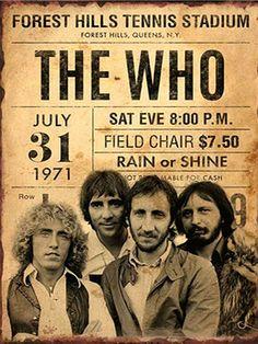 Vintage Concert Posters, Posters Vintage, Rock Posters, Band Posters, Pop Rock, Rock N Roll, Cover Art, Greatest Rock Bands, British Rock