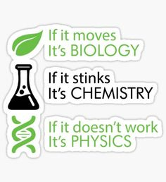 Hipster stickers featuring millions of original designs created by independent artists. Chemistry Quotes, Chemistry Posters, Chemistry Experiments, Science Chemistry, Science Humor, Chemistry Tattoo, Element Chemistry, Chemistry For Kids, Chemistry Projects