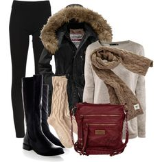 """""""Winter Cozy"""" by orysa on Polyvore"""
