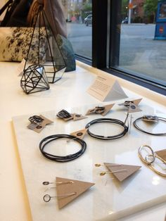 I'm very excite to have my jewelry at the new Moorea Seal Store in Seattle