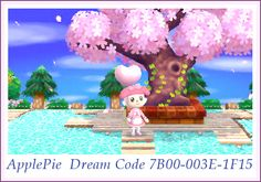 Town Plaza Campsite Nice Path Dress Town Inspiration Idea ACNL Animal Crossing New Leaf My House ♡ ApplePie ♡ Apples ♡ Dream Code 7B00-003E-1F15 ♡