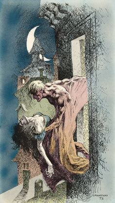 Creature of the Night - art by Bernie Wrightson (1973)