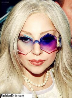 lady gaga November 2013 | Lady Gaga's unique Sunglasses Collection | FashionEnds.Com – #1 ...
