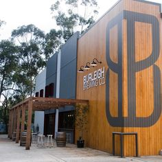 Accoya selected as ideal material to clad this Burleigh Brewing Co. project in Australia.