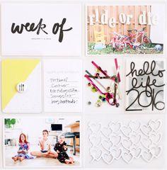 Project Life 2016: Week 1 // www.kelseyespecially.com