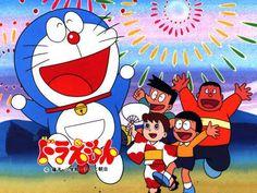 ドラえもん。My favorite Japanese TV show