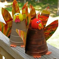 Paper Cup Turkeys | Crafts | Spoonful