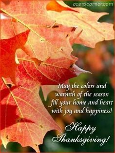 Send this beautiful Thanksgiving ecard to your near and dear ones. Happy Thanksgiving Images, Thanksgiving Messages, Canadian Thanksgiving, Thanksgiving Blessings, Thanksgiving Greetings, Holiday Images, Thanksgiving Decorations, Thanksgiving Prayers, Holiday Messages