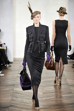 Ralph Lauren Fall 2008 Ready-to-Wear Fashion Show - Kerstin Mannik