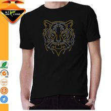 Wholesale cotton tiger design round neck T shirts for men  best seller follow this link http://shopingayo.space