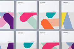 Cerovski by Bunch, United Kingdom. #colour #branding #design