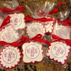 Somebody's 21 today at Cornell University! - See more of our cookies at http://www.ctcookietreats.com