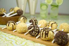 Frozen Peanut Butter Balls / @DJ Foodie / DJFoodie.com