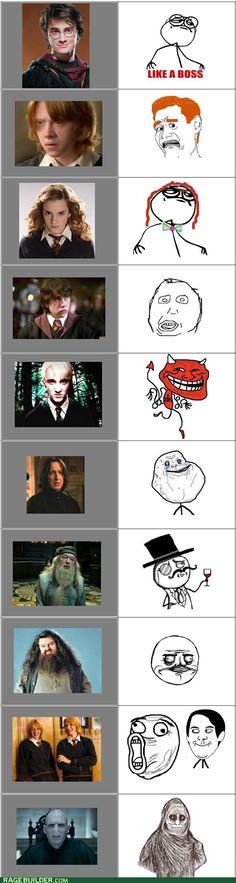 Harry Potter Memes, I love the Twins :D