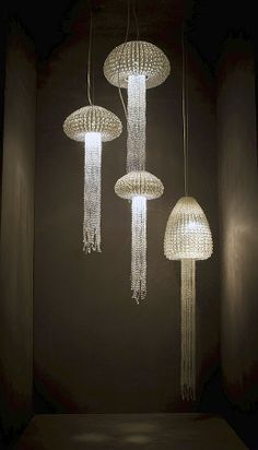 Collection Andil Suspension In Marbles Of Glass Beads Archiexpo A Cool Updated Organic Chandelier I Would Want The Cer Down My Stairs