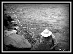Sou pescador, é paz e amor...