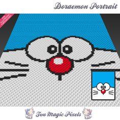 Image result for cross stitch doraemon