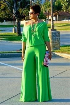 jumpsuits-for-women - Womens Fashion 1 Girl Fashion, Fashion Looks, Womens Fashion, Chic Outfits, Fashion Outfits, Fashion Tips, Looks Plus Size, Moda Plus Size, African Fashion Dresses