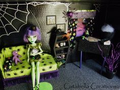 Diorama for my daughter created for her Monster High Witch Doll. (NOT FOR SALE) ♥