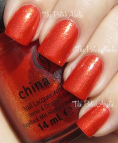 China Glaze Riveting nails-and-faces Crazy Nail Art, Crazy Nails, Cool Nail Art, Love Nails, Pretty Nails, My Nails, China Nails, Plain Nails, Nail Art Pictures
