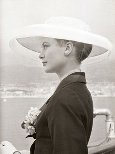 Grace Kelly's hat which was hated by the people of Monoco because they could not see her face