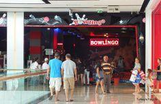 Bowling At #Fethiye Shopping Centre