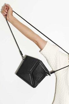 Geometric Handbag - chic style, minimalist bag // Imago-A Spring 2014